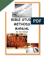 Jackson, Bible Study Methods Manual