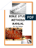 Jackson, Bible Study Methods Manual