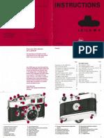 Leica-M4 Manual