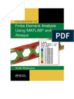 Finite Element Analysis Using MATLAB