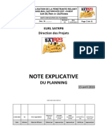 Planning Route - Version Mars2015