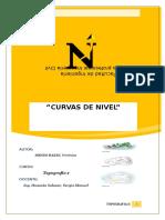 Informe 4- Curvas de Nivel