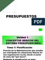 Presupuesto Unidad 1 Duoc UC