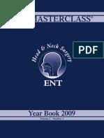 ENT Journal 2009