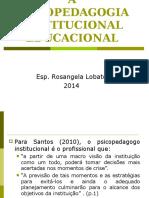2b83d534160 A Psicopedagogia Institucional Educacional