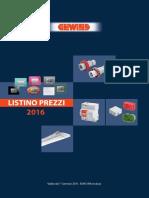 Listino Prezzi Gewiss 04 2016