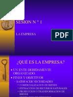 1- La Empresa