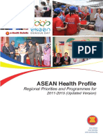 9. September 2014 - ASEAN Health Profile - Regional Priorities and Programme (2011-2015) Updated Edition.pdf