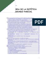 Historia de La Estecc81tica Segundo Parcial Doc Neooffice Writer
