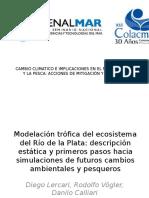 COLACMAR 2015Modelación Trófica Del Ecosistema Del Río de La
