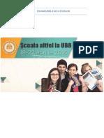 Scoala Altfel La UBB, 2016.04.18-22