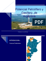Potencial Petrolífero y Gasífero de Argentina