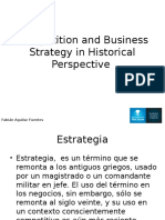 Competition and Business Strategy In