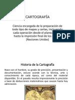 Cartografia en el Perú