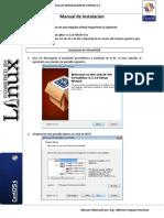 Manual de Instalación de Virtual Box y Centos 6.5