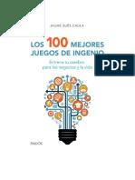Sues Caula Jaume - Los 100 Mejores Juegos de Ingen-.DD-BOOKS.com.-.