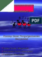 Pengorganisasian Masyarakat