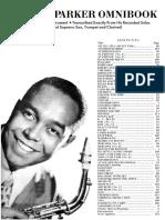 31. Charlie Parker Omnibook (Bb)