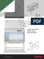 Thermo Safety Cabinets MSC-Advantage - Service Manual