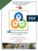 PORTAFOLIO de SERVICIOS GR Consultorías y Soluciones Integrales s.a.s.