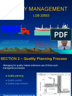LGB 20503 Section 2 Quality Planning