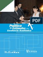 Estimulos Excelencia Academica UEB 2013