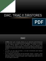 Diac, Triac y Tiristores