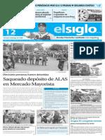 Edición Impresa El Siglo 12-05-2016