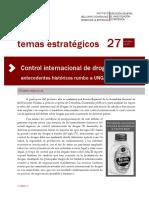 Control Internacional de Drogas