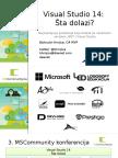 Visual Studio 14 Sta Dolazi