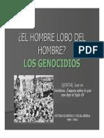 Genocidios en El Siglo XX
