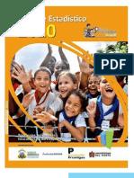 Informe estadístico 2010 sobre la Calidad de la Educación en Barranquilla.
