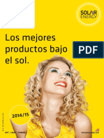 Solar Energy Catalogo 2014