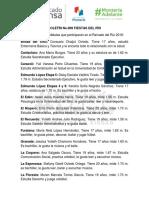 10-05-2016 Boletín No.009 Fiestas del Río