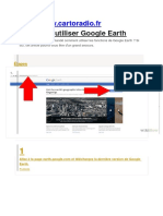 Comment Utiliser Google Earth