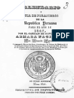 Guía Forasteros Peru 1847