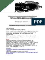 INSTRUCTIONS DE EMULACION DE NINTENDO 3DS Y FUTURO PROYECTO.docx