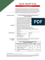 Quik Mudd50 Datasheet