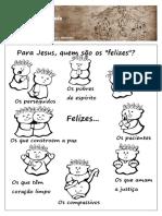Anexo 22 - As Bem Aventurancas _desenho
