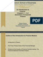 Finance Intro