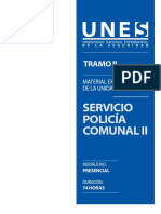Servicio Policía Comunal II