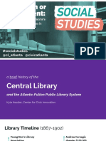 Past and future of Atlanta's Central LIbrary, 2016 presentation