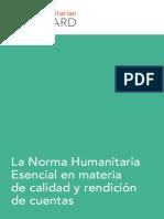 Core Humanitarian Standard - Spanish