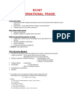 EC367- International Trade