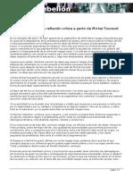 Escuela y Poder_ Una Reflexion Critica a Partir de Michel Foucault