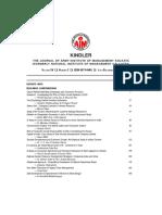 Kindler Volume XV July-December 2015 Conference Special