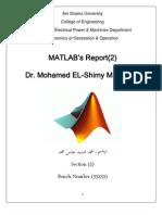 Matlab Report 2