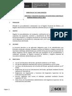 Modificacion Directiva 017-2016-OSCECD RNA y RNS