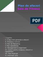 Plan de Afaceri Sala Fitness