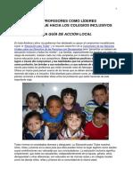 Los Profesores Como Lideres, Abril 2012